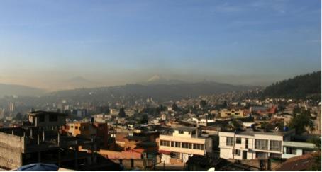 Utsikt från Quito